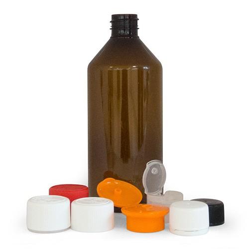 High-capacity kits with PET flacons